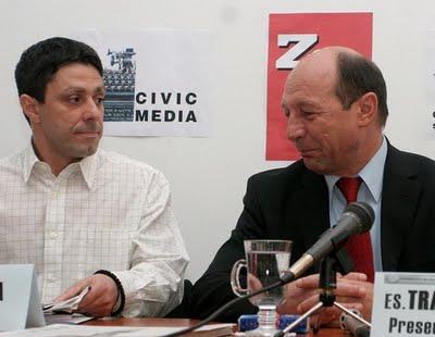 Victor-Roncea-si-Traian-Basescu-Civic-Media-Ziua-Mic