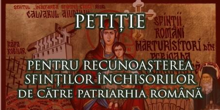 petitie Sfintii Inchisorilor
