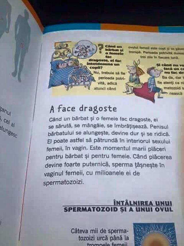 Carti despre educatia sexuala la copii